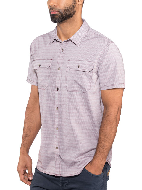 Prana Cayman SS Shirt Men Raisin